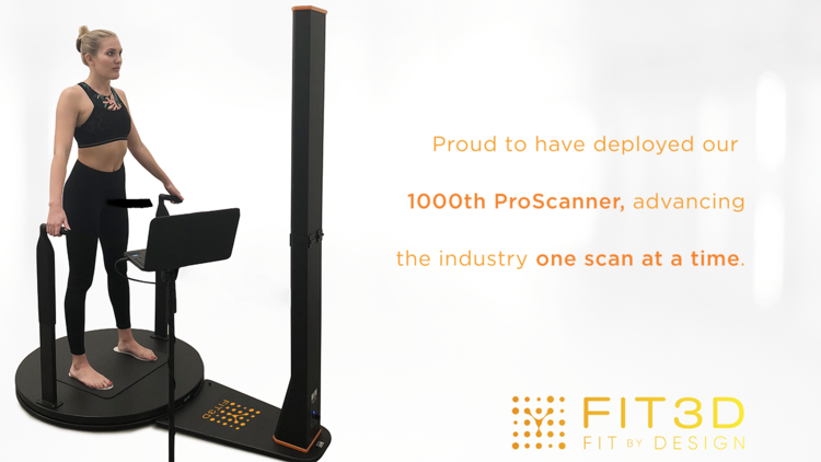 Fit3D: 1,000 ProScanners